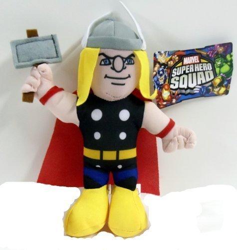 Officially Licensed Marvel Super Hero Squad Avengers Thor Plush 8