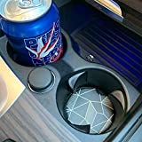 "Car Coasters 2 Pack, Small 2.56"" Stone Car"