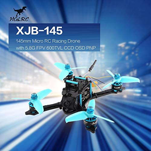 Wikiwand HGLRC XJB-145 145mm Micro RC Racing Drone 5.8G FPV 600TVL Camera CCD OSD PNP by Wikiwand (Image #3)