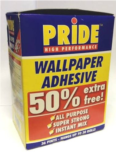 Wallpaper Paste Glue Adhesive All Purpose Super Strong Instant Mix Hang 30 Rolls