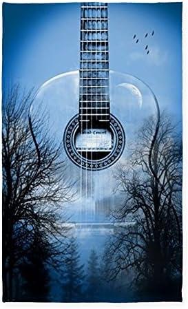 CafePress Guitar 3'X5' Decorative Area Rug