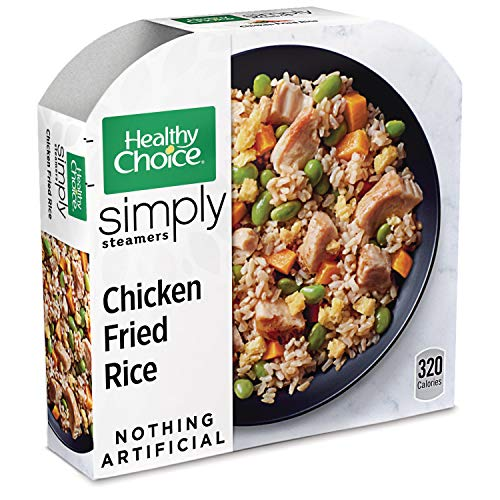 (Healthy Choice Simply Steamers Frozen Dinner, Chicken Fried Rice, 10 Ounce)