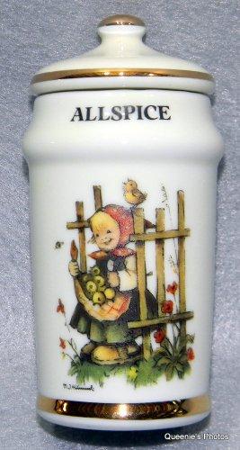 Allspice Hummel Spice Jar Danbury Mint 1987 (Hummel Mint)