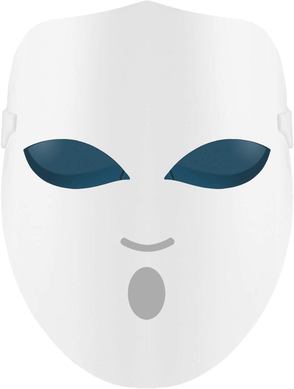 REAKOO light therapy mask Mascarilla LED mascarilla facial Mascarilla de terapia de luz Tratamientos para el acné Activar colágeno Mascarilla blanqueadora LED Tratamiento de la piel para el rostro