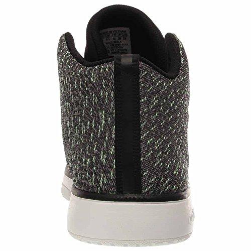 adidas Veritas Mid Weave Mens Casual Sneakers Size US 8, Regular Width, Color Black/Gray/Green Gray