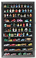 Lego Minifigures Miniature Figures Display Case Wall Curio Cabinet from Display Gifts Inc.