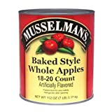 Knouse Foods Musselmans Whole Baked Apple, 112 Ounce -- 6 per case.