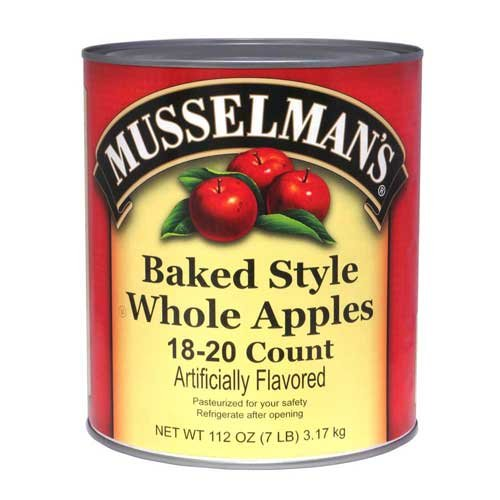 Knouse Foods Musselmans Whole Baked Apple, 112 Ounce -- 6 per case. by Knouse Foods
