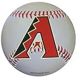 Arizona Diamondbacks Baseball Shaped Magnet Large MLB Team Refrigerator Locker