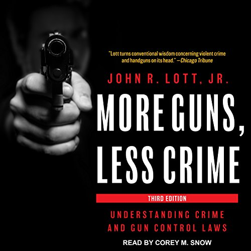 More Guns, Less Crime: Understanding Crime and Gun Control Laws (Audio Gun)