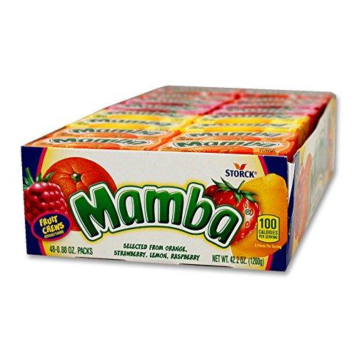 Mamba Fruit Chews 48-0.88 oz packs (Mamba Fruit Chews)