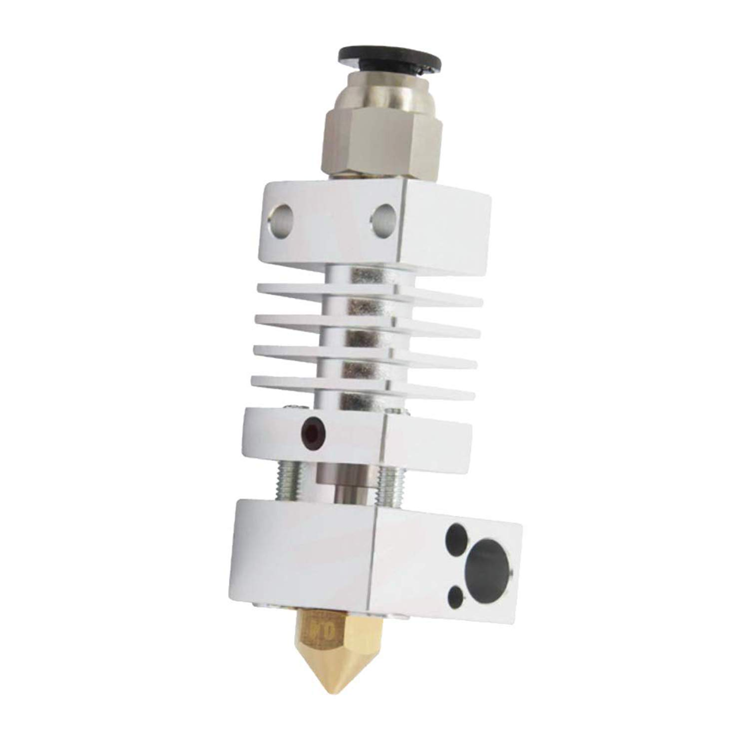 Buperor Hotend 3D Printer Extruder for Creality CR-10 / CR10 / CR10S / Ender 2 / Ender 3 Ender 5 Printers All Metal Block Assembled