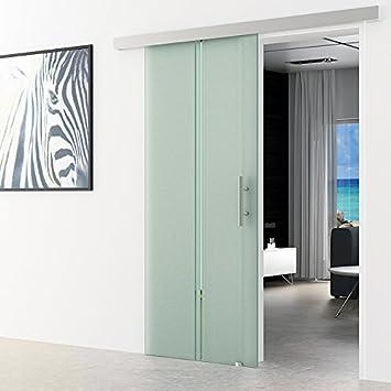 Correderas de cristal para puertas de vidrio transparente Levidor basic-sistema completo de ejecución del carril