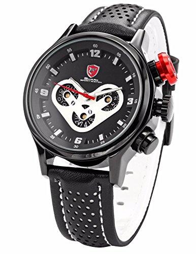Shark: Un reloj llamado Megalodon ¿Cómo no comprarlo? Un gran reloj para los fanáticos de los tiburones.
