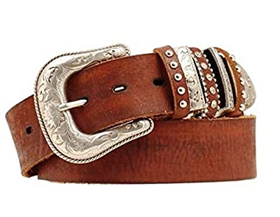 Nocona Belt Co. Women's Multi Keeper Buckle Set Belt