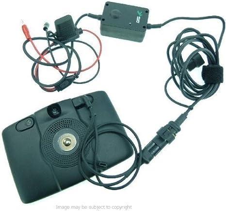 Cargador De Coche Para Tomtom Go Live 825 mediante Live 825 Cable de alimentación