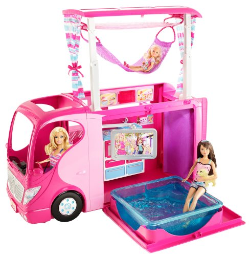 Amazon Com Barbie Sisters Family Camper Toys Games
