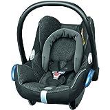 Maxi-Cosi CabrioFix silla de auto reclinable y de alta seguridad para tu bebe, 0-12 meses, 0-13 kg, color negro  (triangle black)