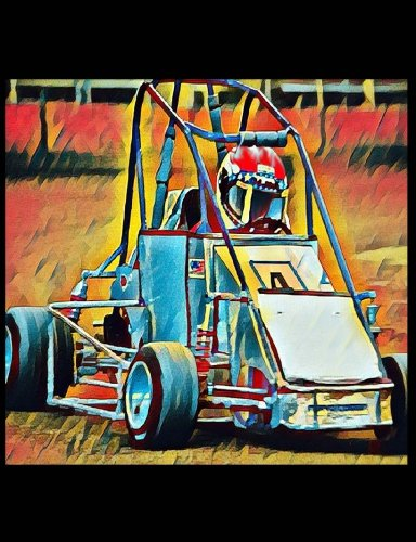 Quarter Midget Racing Car Composition Notebook 7.44x9.69 Story Paper K-3: Blank Story Paper for Notes, Bullet Lists, Sketches, Thoughts, Doodles, Designs, and Plans. Exercise Book or Journal. ebook
