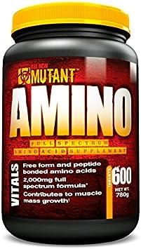 Mutant Mutant Amino Standard - 600 Tabletas