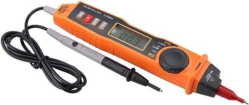 Digital Multimeter, Walfront PEAKMETER PM8211 Pen Type No-contact Handheld Electric Digital AC DC Voltage Current Resistance Tester Multi Meter