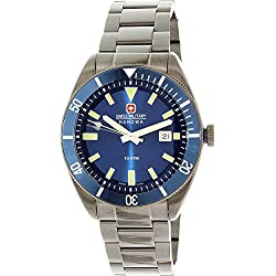 Mens Swiss Military Hanowa Wristwatch Skipper 6-5214.30.003