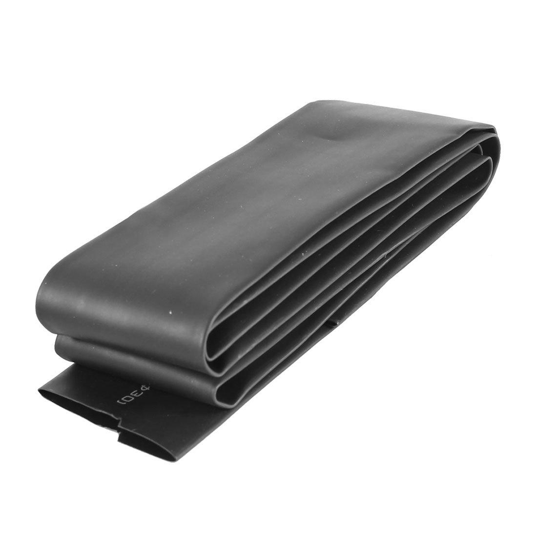1 Meter 30mm Dia Ratio 2:1 Heat Shrinkable Shrinking Tube Black