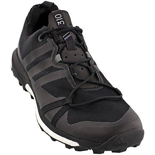 Black Shoes Bike Adidas (adidas outdoor Mens Terrex Agravic Shoe (11.5 - Black/Black/Vista Grey))