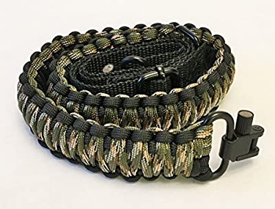 Gun Sling Paracord 550 Adjustable w/ Swivels (Multiple Color Options)