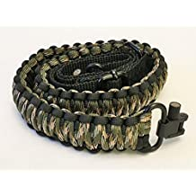 Ten Point Gear Gun Sling Paracord 550 Adjustable w/Swivels (Multiple Color Options)