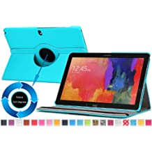 Moko Samsung Galaxy Note PRO & Tab PRO 12.2 Case - 360 Degree Rotating Cover Case for Galaxy NotePRO (SM-P9000) & TabPRO (SM-T900 / T905) 12.2 Android Tablet, Light BLUE