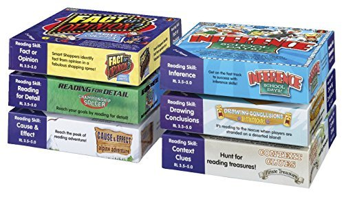 51Qdn8ejVaL - Edupress EP67281 Learning Well Best Sellers Game Set Blue Level
