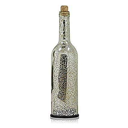 Botella de Luz de Cristal,niceEshop(TM) Botella de Vino con Luz Guirnalda