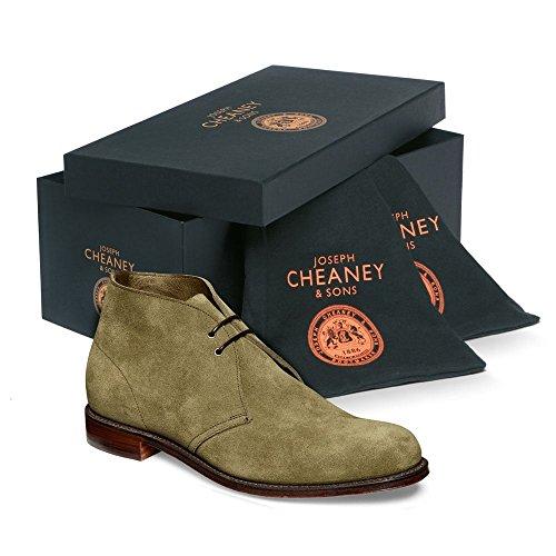 Joseph Cheaney & Sons Dexter Desert Boot in Cappero Green Castoro Suede Green tM9vof
