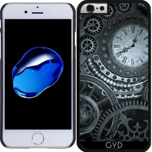 Coque pour Iphone 6 Plus (5,5'') - Horlogerie Steampunk Argent by Britta Glodde