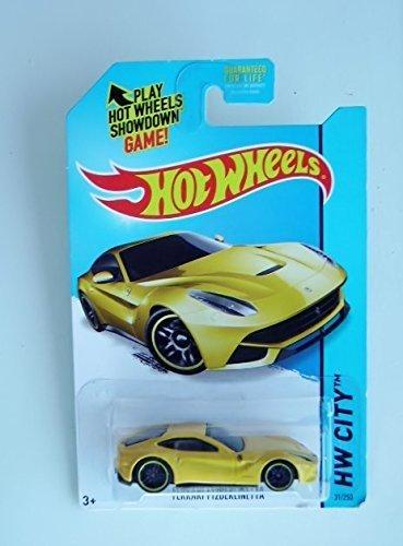 Ferrari F12berlinetta (Yellow) Diecast Car (Hot Wheels)(2013)
