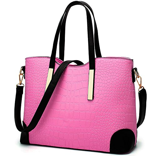 Tote for Satchel Shoulder Purses Wallets Handbags Bags Pink Women YNIQUE c and x0qf1II