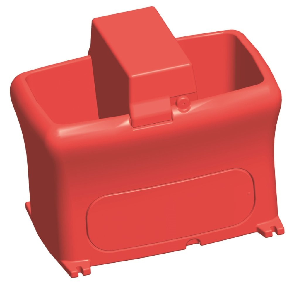 Brower MPO12N 12-Gallon Unheated Poly Waterer, Red by Brower