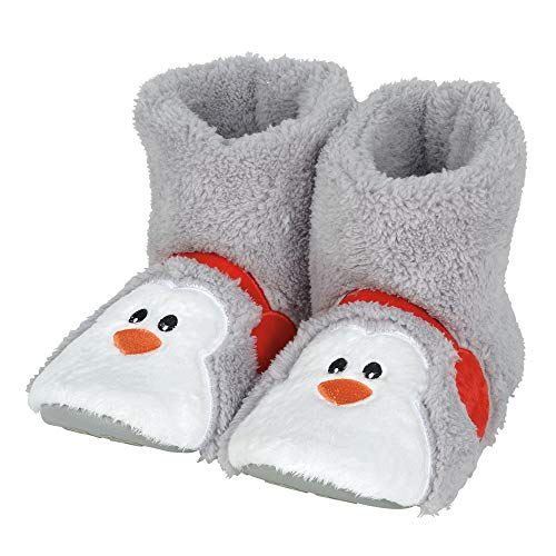 """Department 56 Snowpinions """"Penguin Slippers Medium (Kid), Child Size 9-10, Multicolor by Department 56"""