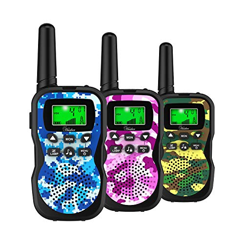 Huaker Kids Walkie Talkies3