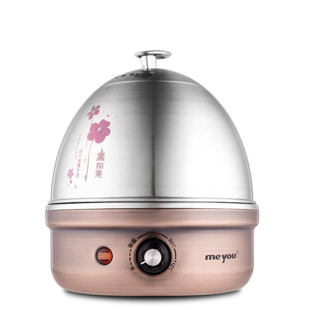 Mini Small,E R/&Y Egg Cooker Cuiseur d/œufs /électrique /Œuf cuit /à la Vapeur monocouche Acier Inoxydable 304 Mise Hors Tension Automatique