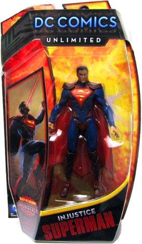 DC Comics Unlimited Injustice Superman Collector Action Figure