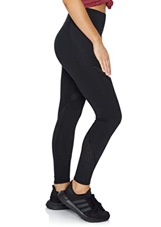 d40826a5aa89a Rockwear Activewear Women's Noosa Fl Perforated Logo Tight Black 10 from Size  4-18 for