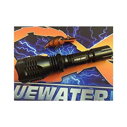 BLUEWATERLED CyberShot Sniper LED Flashlight Cyber Shot Marine Pack