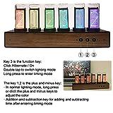 KKTECT LED Digital Clock Steins,LED Nixie Clock