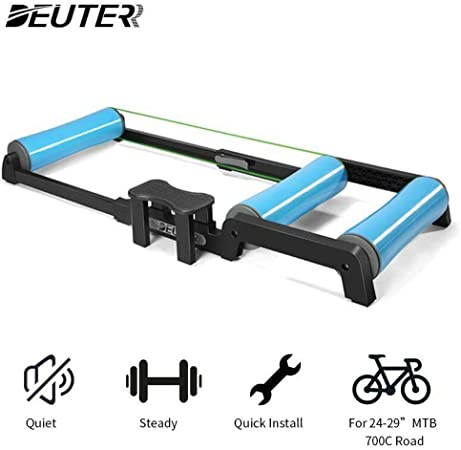 MTB Bike Trainer Rollers Silent Roller Trainer Road Bike Training Bicycle DHL
