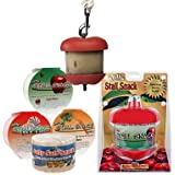 Horseman's Pride Jolly Apple Stall Snacks with Holder and Refills Available. Horse Stall Treats and Snacks