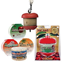 Horseman's Pride Jolly Apple Stall Snack Refill. Horse Stall Treats and Snacks (Carrot Refill)