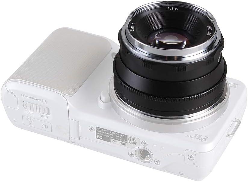 Hersmay 35mm F 1 6 Manueller Fokus Prime Fixed Objektiv Kamera