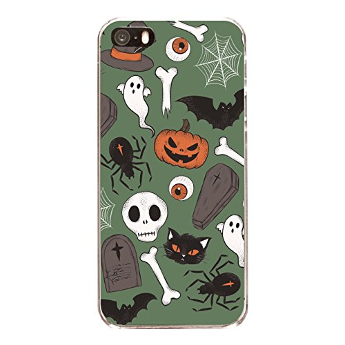 "Disagu SF-sdi-3788_1211#zub_cc4844 Design Schutzhülle für Apple iPhone 5S - Motiv ""Halloweenmuster 03"""